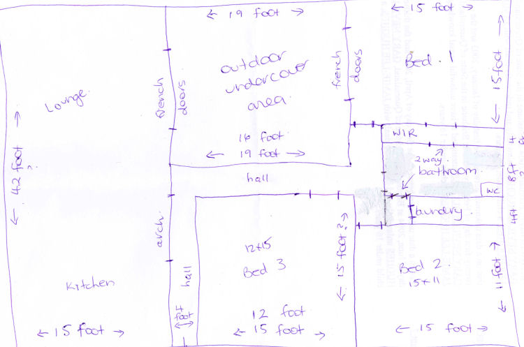 house map design sample via - Home Map Design